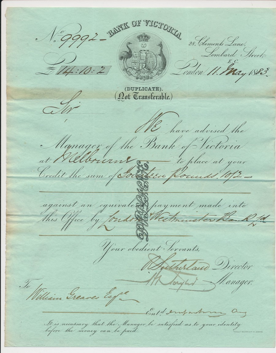 AUSTRALIA-Bank-of-Victoria-London-11-5-1883-letter-of-credit
