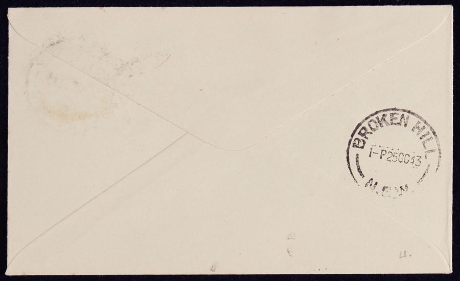 AUSTRALIA-1943-Sydney-Broken-Hill-via-Melbourne-AAMC-964a thumbnail 2