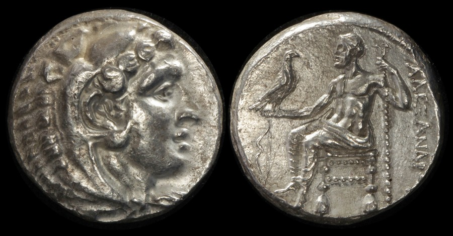 Alexander Iii 'the Great' 336-323bc Ar Tetradrachm Devoted Ancient Greek Macedon