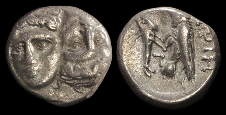 Istros Late 5th-4th Centuries Bc Ar Drachm S-1669 Precise Ancient Greek Thrace moesia