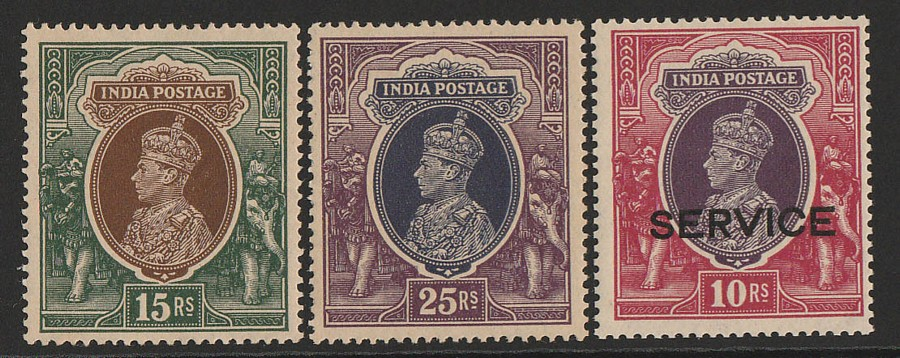 INDIA : 1929-52 Mint collection KGV & KGVI plus states SG cat £1650++.