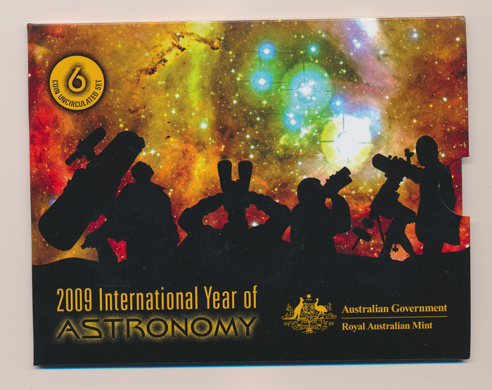 Australia-2009-UNC-Set-International-Year-of-Astronomy