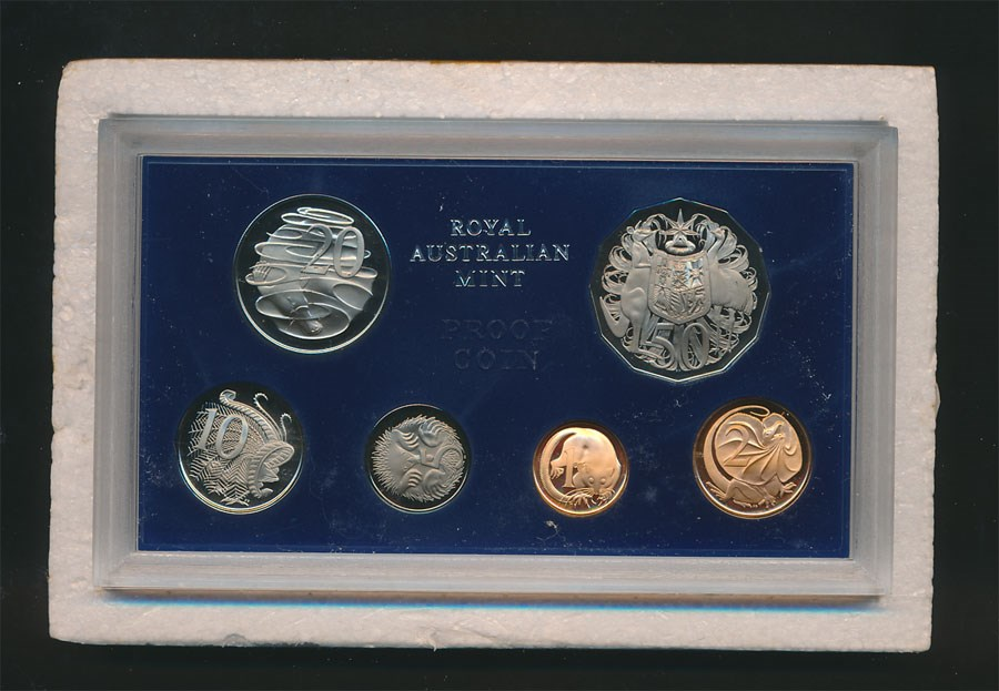 1971 coin proof set value
